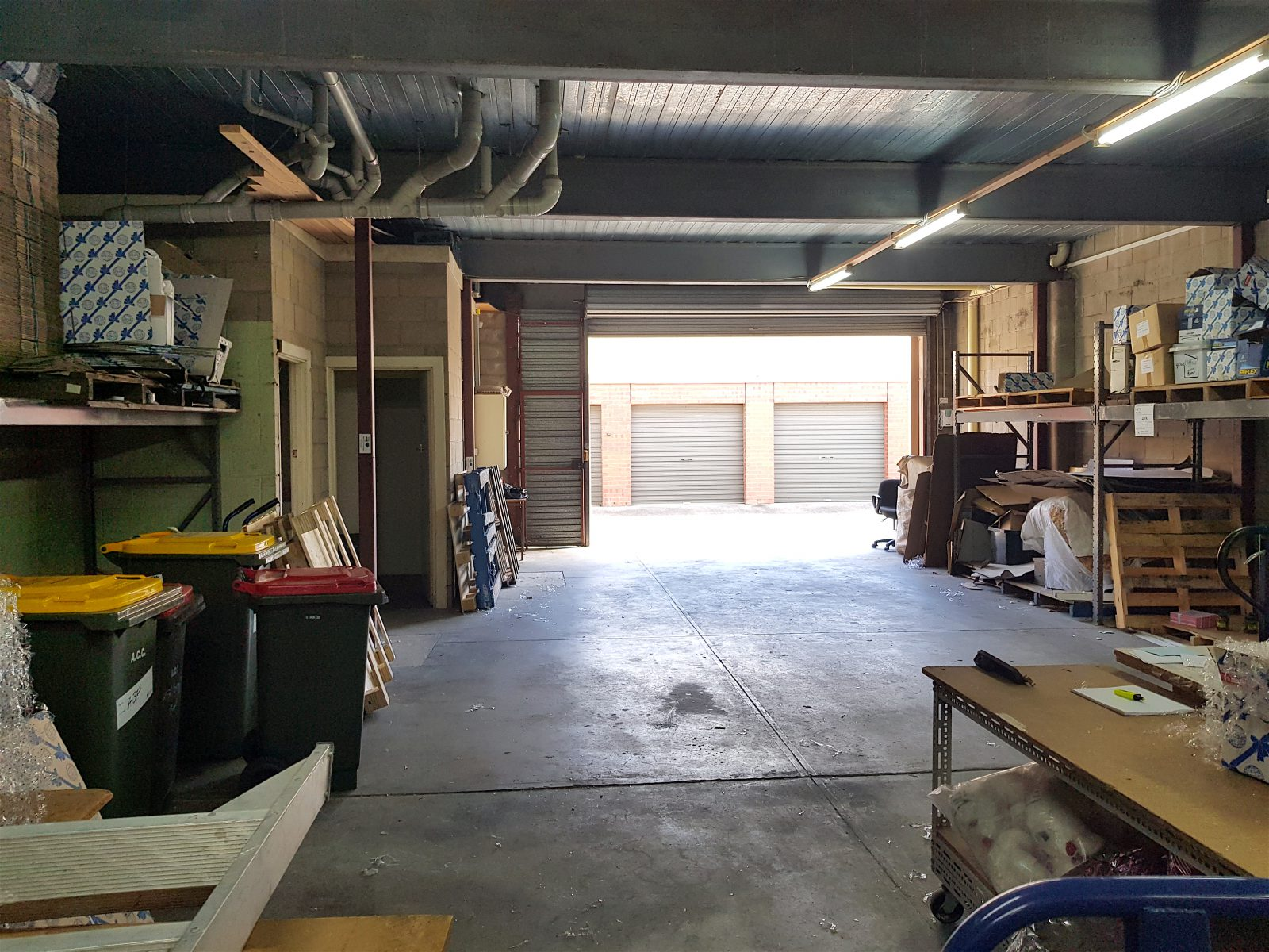 Warehouse style garage space in the cbd renew for Garage flooring adelaide