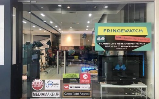 Fringe Watch Lounge Channel 44 Rundle Mall Plaza